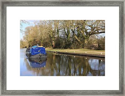 Longboat Framed Print by Terry Beecher