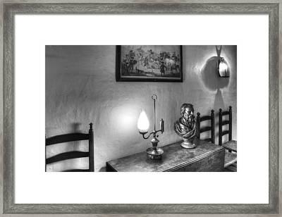 Longfellows Wayside Inn Framed Print by Lee Fortier