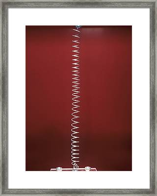 Longitudinal Wave Framed Print by Andrew Lambert Photography