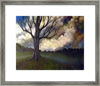 Lonsome Tree 0001 Framed Print