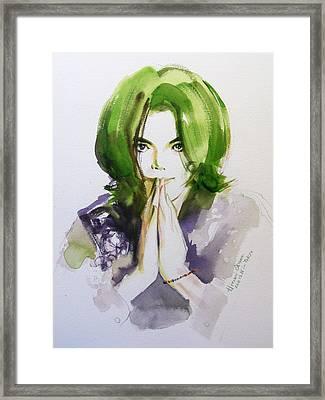 Look At Me Framed Print by Hitomi Osanai