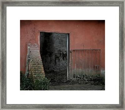 Look Inside Framed Print by Odd Jeppesen