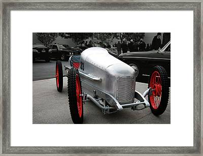 Look Ma No Brakes Framed Print by Bill Dutting
