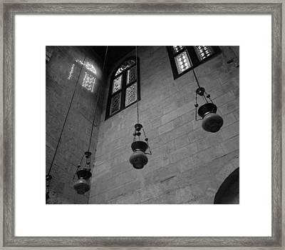 Look To Above Framed Print by Bernice Williams