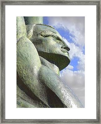 Look To The Sky - R Framed Print by Mike McGlothlen