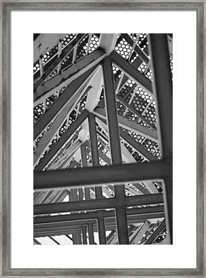 Look Up Framed Print by Rick Bott