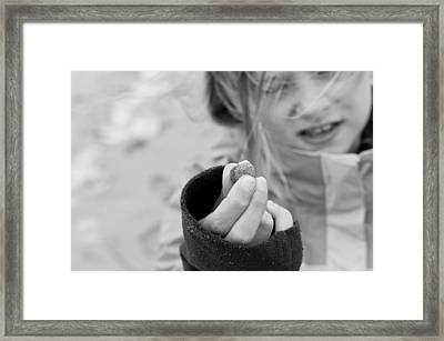 Framed Print featuring the photograph Look What I Found by Edward Myers