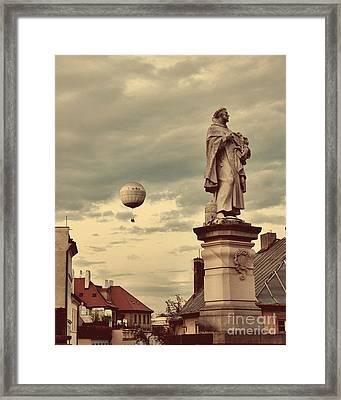 Looking Ahead Framed Print by Ivy Ho