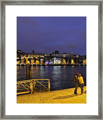 Looking At Something Interesting Framed Print by Kirsten Giving