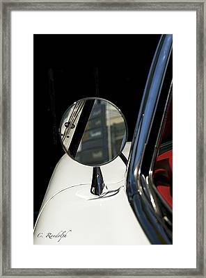 Framed Print featuring the photograph Looking Back by Cheri Randolph