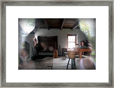 Looking Back Framed Print by Karen Wiles