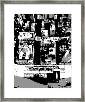 Looking Down Bw3 Framed Print by Scott Kelley