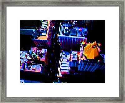 Looking Down II Framed Print