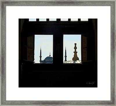 Looking East Framed Print by Cheri Randolph