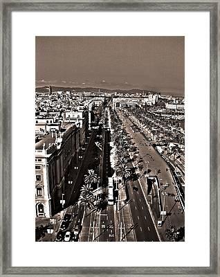 Looking East ... Framed Print