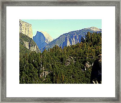 Looking East Framed Print