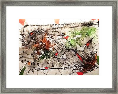 Looking For A Style Framed Print by Graciela Scarlatto