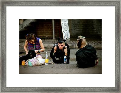 Looking For Attention Framed Print by Jez C Self