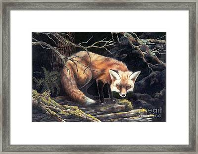 Looking For Lunch   Sold Framed Print