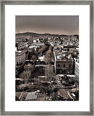 Looking North ... Framed Print