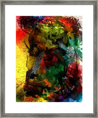 Looking Out Framed Print by James Thomas