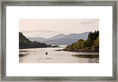 Looking To The Isle Of Mull Framed Print