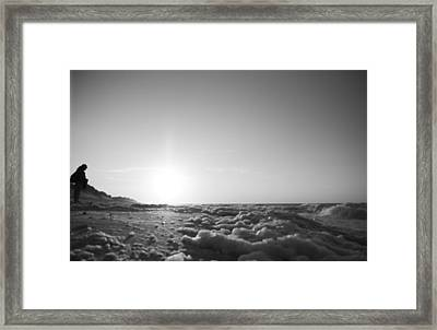 Looking To The Sea Framed Print