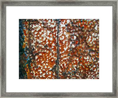 Looking Up Abstract Framed Print