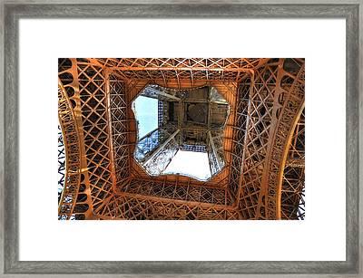 Looking Up Framed Print by Barry R Jones Jr
