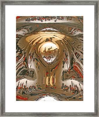Looking Up Framed Print by Elvira Butler