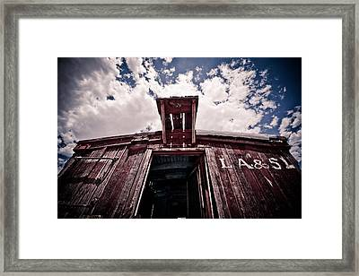 Looking Up Framed Print by Merrick Imagery