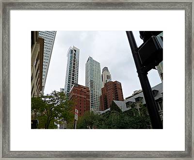 Looking Up Framed Print by Val Oconnor