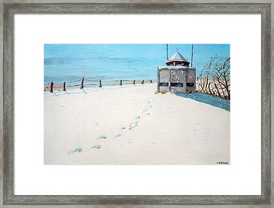 Lookout On Forest St Framed Print by Anthony Ross