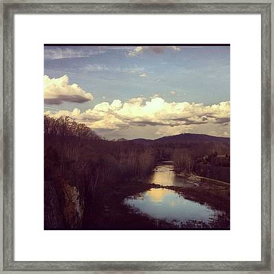 Looks Like A Painting But Is A Real Framed Print by  Abril Andrade Griffith