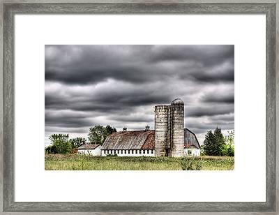 Looks Like Rain Framed Print by JC Findley
