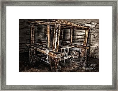 Loom Framed Print by Danuta Bennett