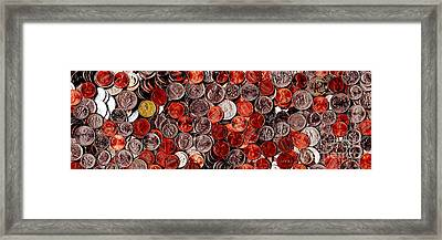 Loose Change . 3 To 1 Proportion Framed Print by Wingsdomain Art and Photography