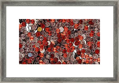 Loose Change . 9 To 16 Proportion Framed Print by Wingsdomain Art and Photography