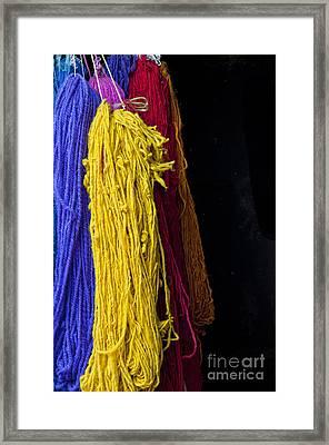 Loose Ends Framed Print by Marion Galt