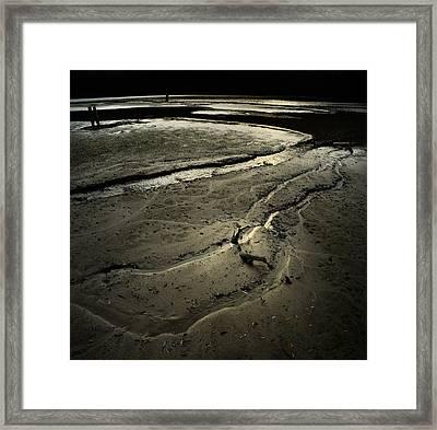 Loosing The World Framed Print by Akos Kozari