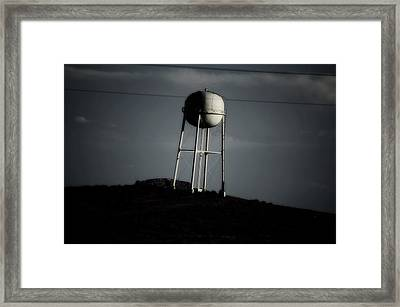 Framed Print featuring the photograph Lopsided Tower by Jessica Shelton