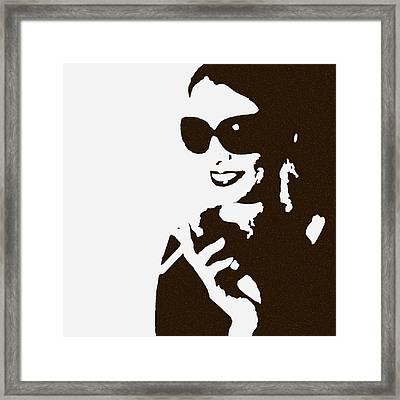 Lora Framed Print