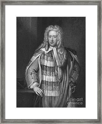 Lord Bolingbroke (1678-1751) Framed Print