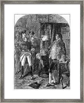 Lord Edward Fitzgerald Framed Print by Granger