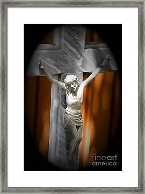 Lord Forgive Them II Framed Print by Al Bourassa
