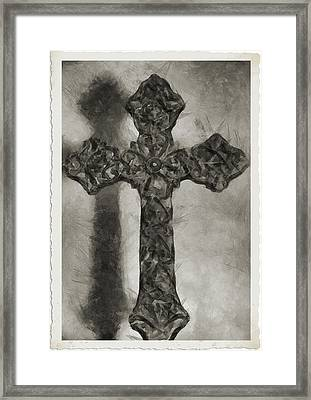 Lord Have Mercy 4 Framed Print