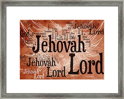 Lord Jehovah Framed Print