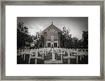 Lord Knows Framed Print by Pixel Perfect by Michael Moore