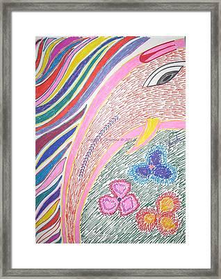 Lord Of Beginning Framed Print by Sonali Gangane