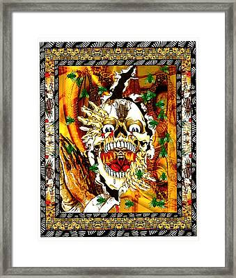 Lord Of The Flies Framed Print by Janiece Senn
